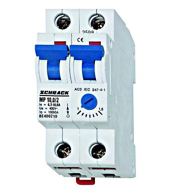 motor protection circuit breaker 2p 6 3 10a online shop schrack rh schrack com