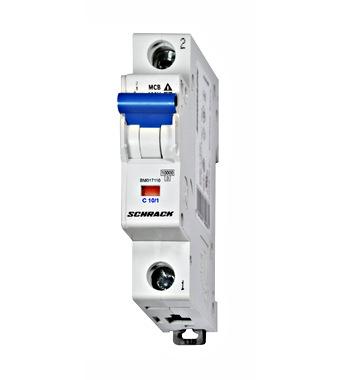 Zaštitni prekidač, C karakteristika, 10A, 1-polni, 10kA