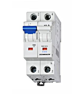 Sicherungsautomat, Kennlinie B, 16A, 1+N, 10kA