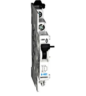 Pomocný kontakt 5-250V/6A, 1Z+1R,B-HSI, nasouvací