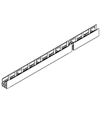 Busbar Pin Version 3pole 16mm2 1m Bs990117me