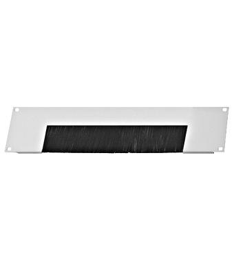 Krovni panel s četkom za uvod kab. za DS ormare, 2U, RAL7035