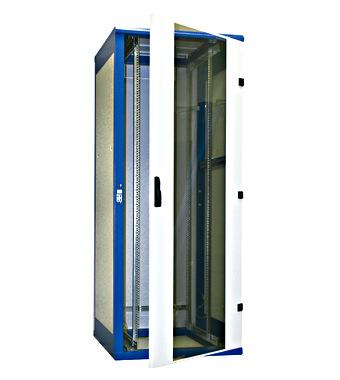 """Samostojeći komunikacijski ormar DS 800x1970x800, 19"""", 42U"""