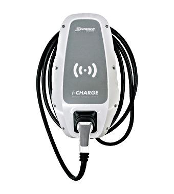 i-CHARGE CION 22kW Tip2 Kabel, lokalni RFID-Sistem, RCMU