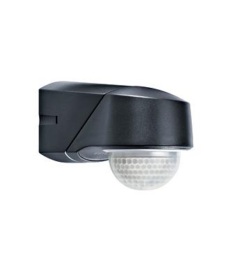 rc 230i infrarot bewegungsmelder aufputz ip54 schwarz. Black Bedroom Furniture Sets. Home Design Ideas