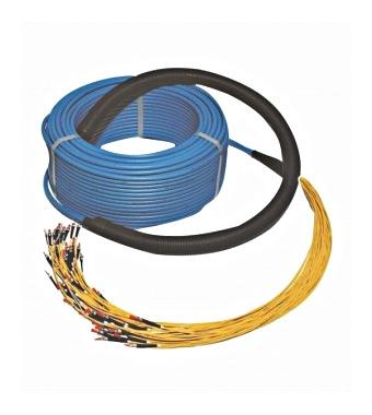 FO Universeel kabel afmontage 2x 24 SC MM connector