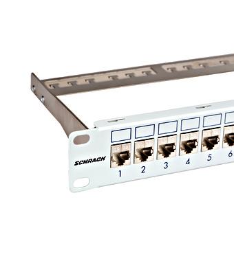 """Prespojni panel 19"""", prazan, za 24 modula (SFA)(SFB), 1U"""