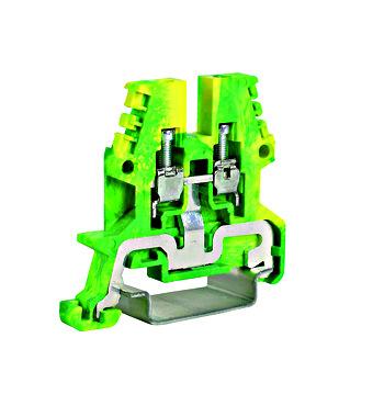 Erdungsklemme TEO.2 grün-gelb, 2,5mm² - Online Shop - Schrack ...