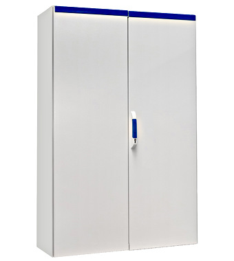 Compact enclosure 2 door IP54 H=1800 W=1200 D=400 mm
