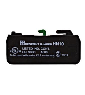 Pomoćni kontakt 3A (230V, AC15), 10A (690V, AC1), 1 N/O