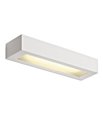 Gl 103 T5 Wall Lamp 8w Angular White Plaster Online