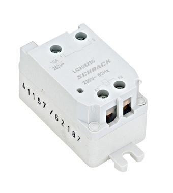 Impulse Relay 230VAC127VDC 1NO 10A Online Shop Schrack