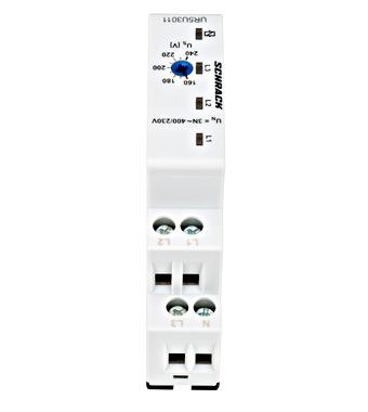 Relej za nadzor napona, 3 fazni, 1 C/O, podešenje: 160-240V
