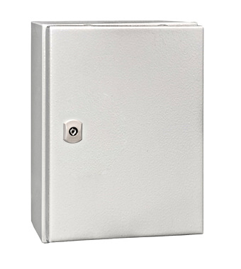 WST Wandkast metaal 1 deur IP65 HxBxD 400x300x155mm
