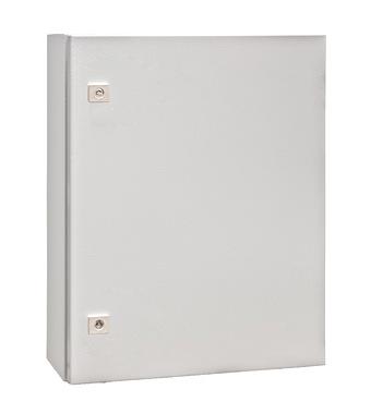 WST Wandkast metaal 1 deur IP65 HxBxD 600x500x155mm