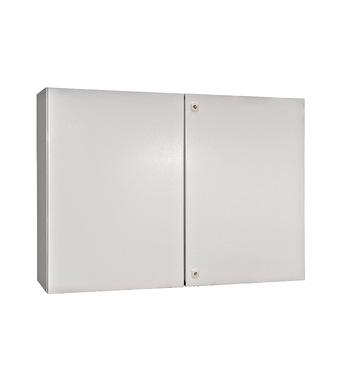 Wall-mounted enclosure 2 doors IP54 H=800 W=1200 D=300 mm