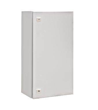 WST Wandkast metaal 1 deur IP65 HxBxD 800x400x300mm