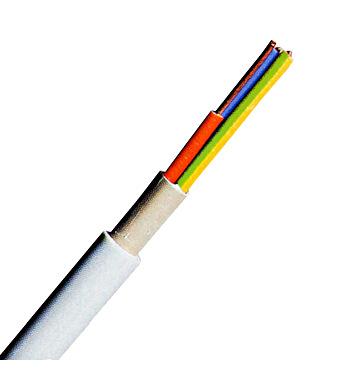 YM-J 3x1,5 re hellgrau, PVC Mantelleitung 50m Ring