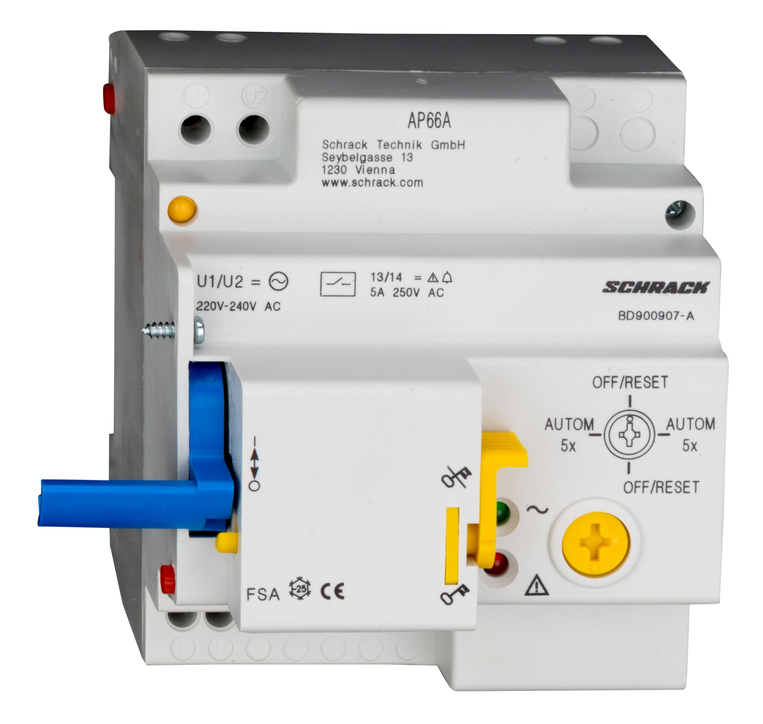 Remote Switching Unit 230v Ac Type Fsa Online Shop Schrack Knx Lighting Wiring Diagram Technik International
