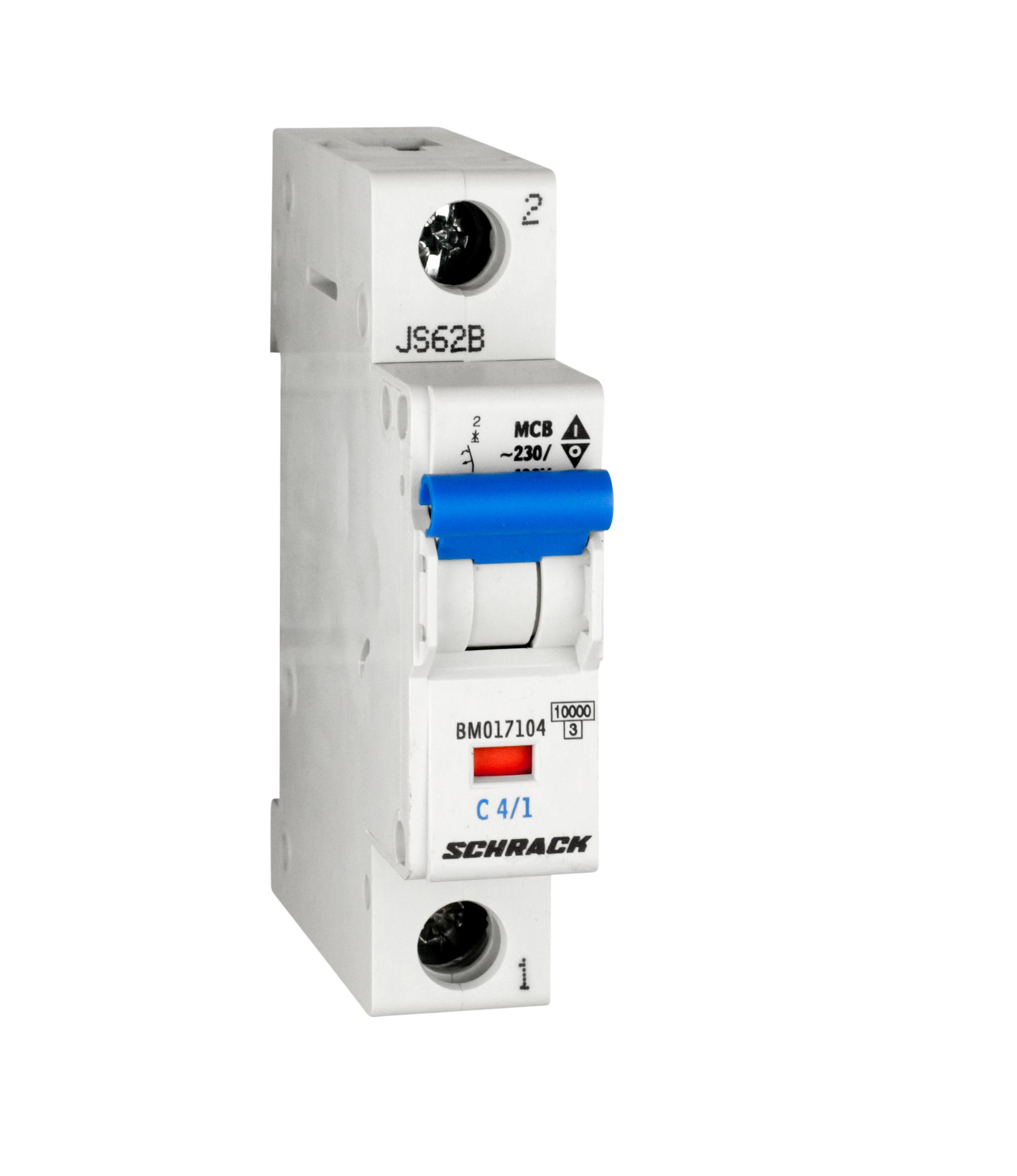 Miniature Circuit Breaker Mcb C4 1 10ka Online Shop Schrack Mccb Technik International