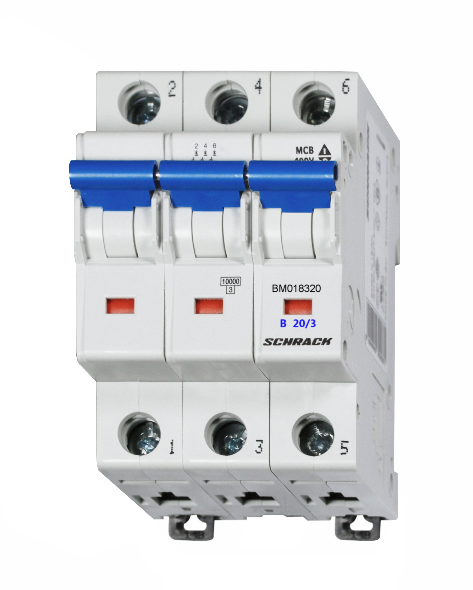 Miniature Circuit Breaker Mcb B20 3 10ka Online Shop Schrack Mccb Technik International