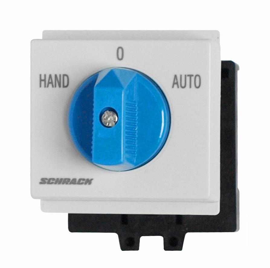 Umschalter für Reiheneinbau, 1-polig, 20A, HAND-0-AUTO - Online Shop ...